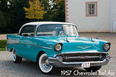 1957 Chevy Hochzeitsauto